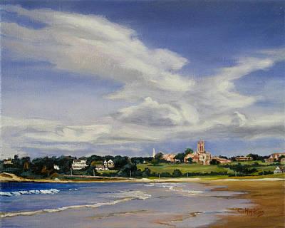 Saint George's Newport Rhode Island Art Print by Christine Hopkins