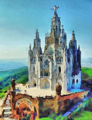 Saint Heart Cathedral Art Print by Yury Malkov
