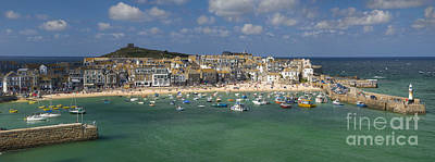 Photograph - Saint Ives Pano by Brian Jannsen