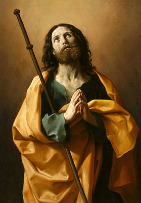 Sacred Heart Painting - Saint James The Greater by Guido Reni