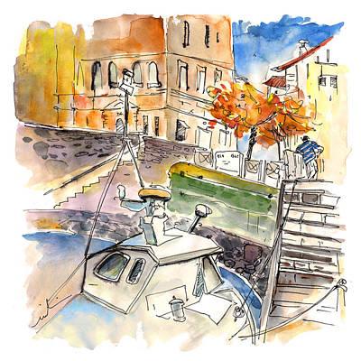 Luz Painting - Saint Jean De Luz 09 by Miki De Goodaboom