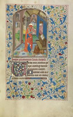 Saint Jerome Workshop Of Willem Vrelant, Flemish, Died 1481 Art Print