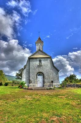 Saint Joeseph's Church Maui  Hawaii Art Print by Puget  Exposure