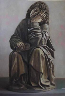 Saint John Dream Art Print by Paez  Antonio