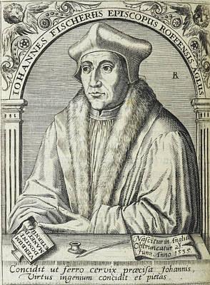 Personalities Photograph - Saint John Fisher by British Library