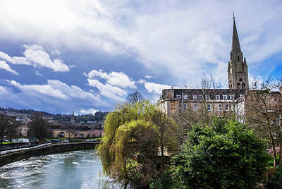Photograph - Saint John S Church Along Side by Leah Bignell