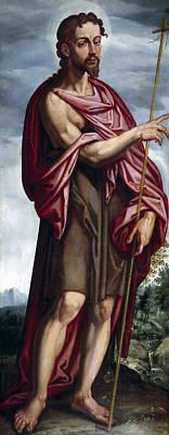 Baptist Painting - Saint John The Baptist by Francisco Pacheco
