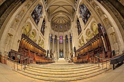 Saint John The Divine Cathedral High Altar  IIi Art Print