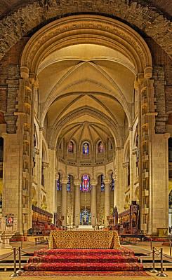 Saint John The Divine Cathedral High Altar  Art Print