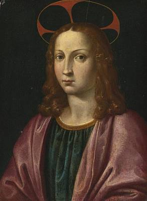 Italian School Painting - Saint John The Evangelist by Celestial Images