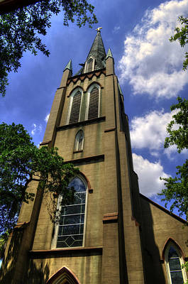 Photograph - Saint Johns Episcopal Church Savannah Georgia by Greg Mimbs