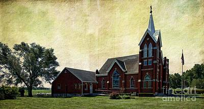 Photograph - Saint John's Lutheran Church by Liane Wright