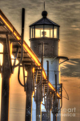 Joseph Photograph - Saint Joseph Lighthouse In Hdr by Twenty Two North Photography