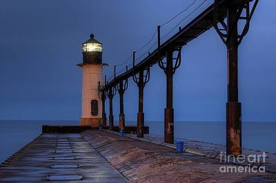 Benton Photograph - Saint Joseph Lighthouse by Twenty Two North Photography