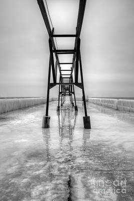 Saint Joseph Michigan Pier Print by Twenty Two North Photography