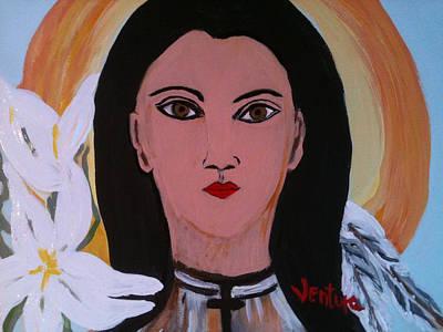 Saint Kateri Takekwitha Art Print