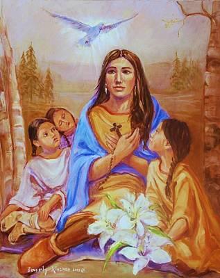 Saint Kateri Tekakwitha Original