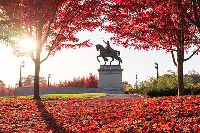 Photograph - Saint Louis Autumn by Scott Rackers
