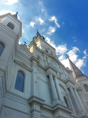 Photograph - Saint Louis Cathedral  by John  Duplantis
