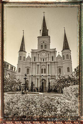 Mt Rushmore Royalty Free Images - Saint Louis Cathedral Royalty-Free Image by Richard Nowitz
