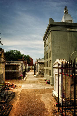 Photograph - Saint Louis Cemetery Number 1 by Chrystal Mimbs
