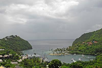 Photograph - Saint Lucia by Willie Harper