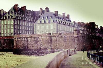 Photograph - Saint-malo Brittany France by Colin and Linda McKie
