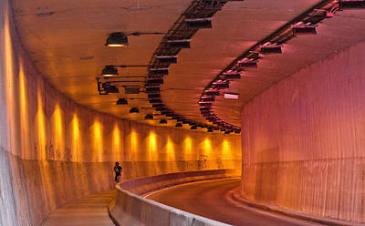 Photograph - Saint-marc Tunnel Scene 1 by Eric Soucy