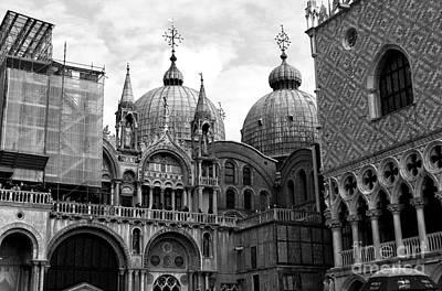 Photograph - Saint Mark's Basilica by John Rizzuto