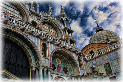 Photograph - Saint Mark's Basilica by Lee Dos Santos