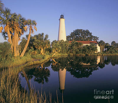 Photograph - Saint Mark's Lighthouse by John Douglas