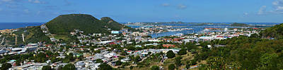 Sint Maarten Wall Art - Photograph - Saint Martin Panorama by Toby McGuire