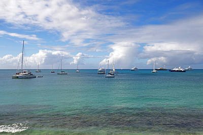 Sint Maarten Wall Art - Photograph - Saint Martin Simpson Bay The Caribbean by Toby McGuire