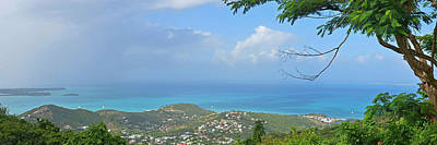 Sint Maarten Wall Art - Photograph - Saint Martin Panorama - Looking Down On Sint Maarten by Toby McGuire
