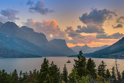 Photograph - Saint Mary Lake by Adam Mateo Fierro