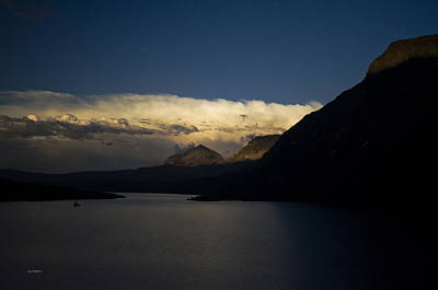 Photograph - Saint Mary Lake by Crystal Wightman