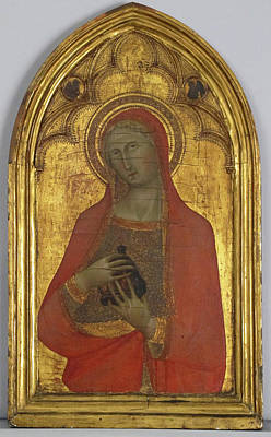 Siena Italy Painting - Saint Mary Magdalen by Bartolo di Fredi