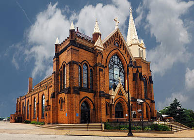 Saint Mary Of The Mount Church Art Print