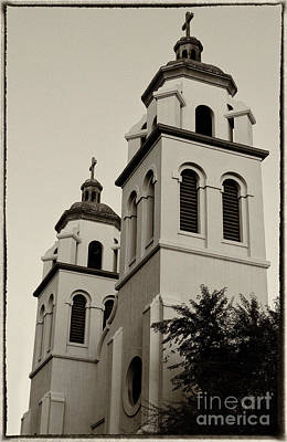 Photograph - Saint Mary's Basilica by Donna Greene