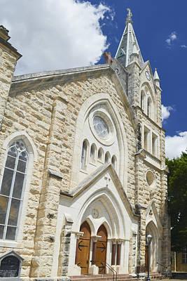 Photograph - Saint Mary's Catholic Church by Allen Sheffield