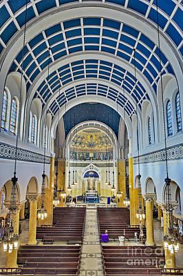 God Photograph - Saint Mary's Church by Susan Candelario