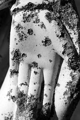 Photograph - Saint Mary's Hand by Mary Bedy