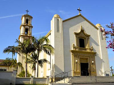 Saint Barbara Wall Art - Photograph - Saint Marys Magdalen Church by Barbara Snyder
