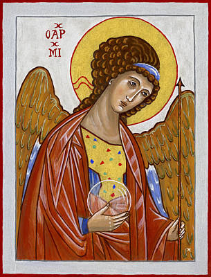 Painting - Saint Michael Archangel by Raffaella Lunelli