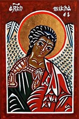 Saint Michael The Archangel Art Print by Marcelle Bartolo-Abela