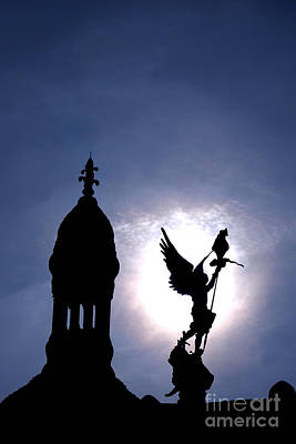 Sacre Coeur Photograph - Saint Michael The Archangel  by Olivier Le Queinec