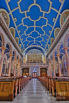 Photograph - Saint Michaels Church by Susan Candelario