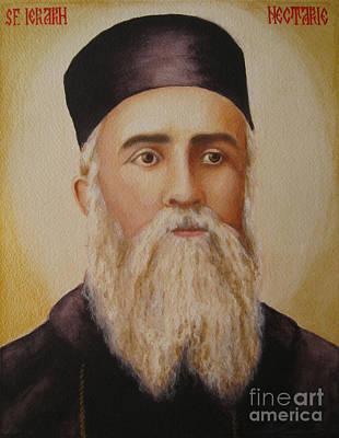 Saint Nectarios Of Aegina Art Print by Andreea Ioana Bagiu