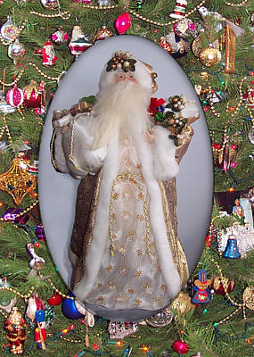 Photograph - Saint Nick by Georgia Hamlin