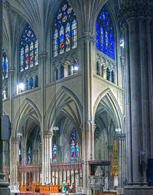 Photograph - Saint Patrick Cathedral 003 by Jeff Stallard
